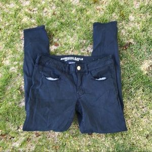 Women's Navy American Eagle Outfitters Pants